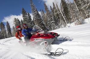 Snowmobiling packages